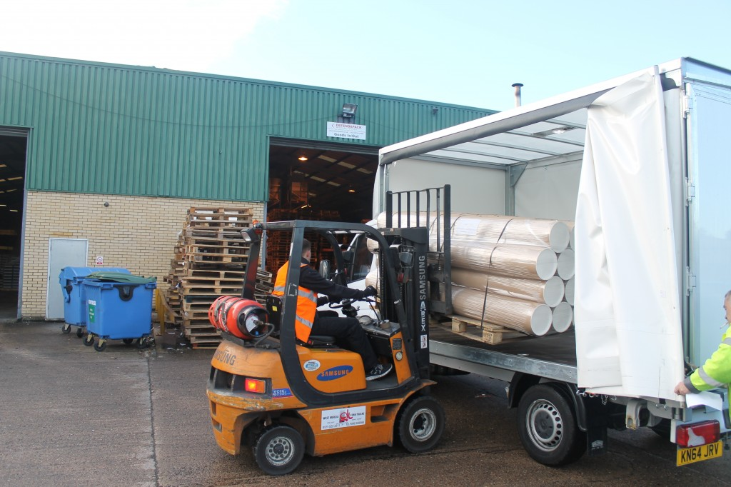 Pallet Delivery (Same Day or Economy Services available)