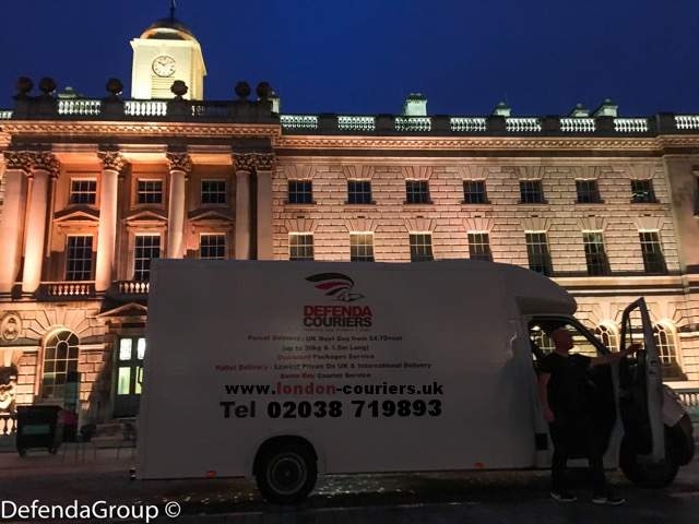Moving goods between London & Birmingham? No problem 'day or night'.